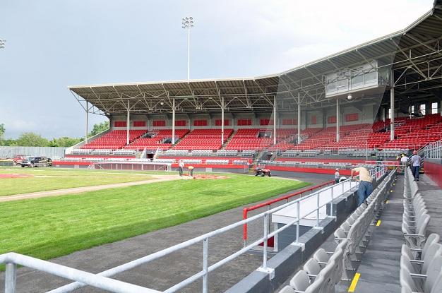 Le stade de Trois-Rivi
