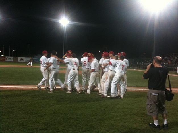 Ontario wins Baseball Canada Cup