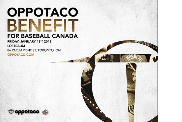 Don't miss OPPOTACO  Benefit for Baseball Canada