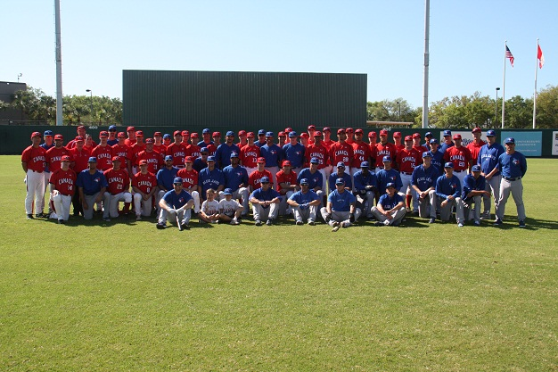 Blue Jays and Baseball Canada celebrate 'Canada Day' at Al Lang Field