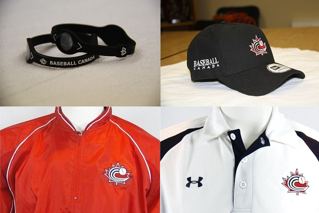 New Baseball Canada merchandise available today!