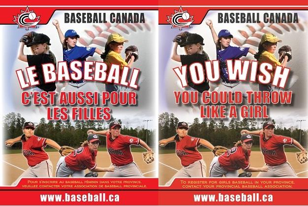 Baseball Canada Announces Girls Baseball Poster Contest