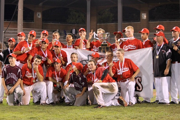 Top 12 of 2012: #8 – Ontario repeats as Baseball Canada Cup champs
