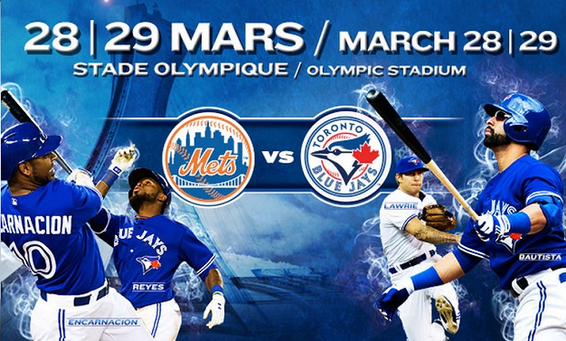 Tickets for Blue Jays vs Mets in Montréal on sale September 14th