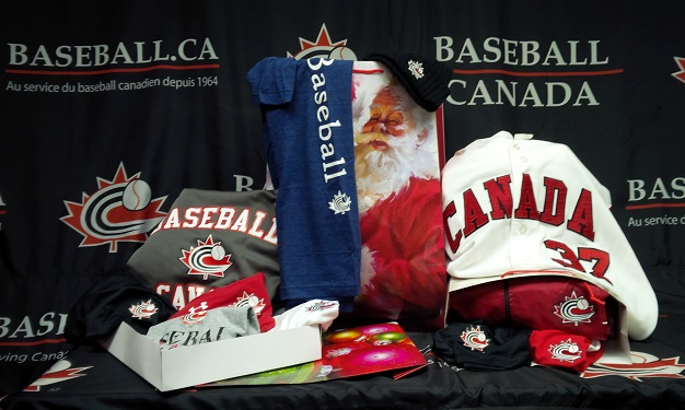 Just in time for the Holidays – Baseball Canada Merchandise now 15% off!