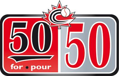 Baseball Canada announces '50 for 50' contest
