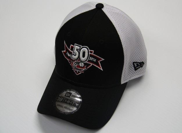 Get your Baseball Canada 50th Anniversary commemorative hat today!