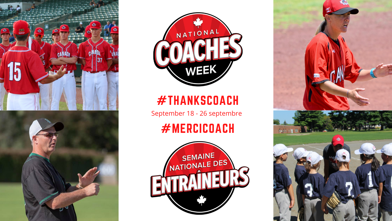 Celebrate National Coaches Week from September 18-26