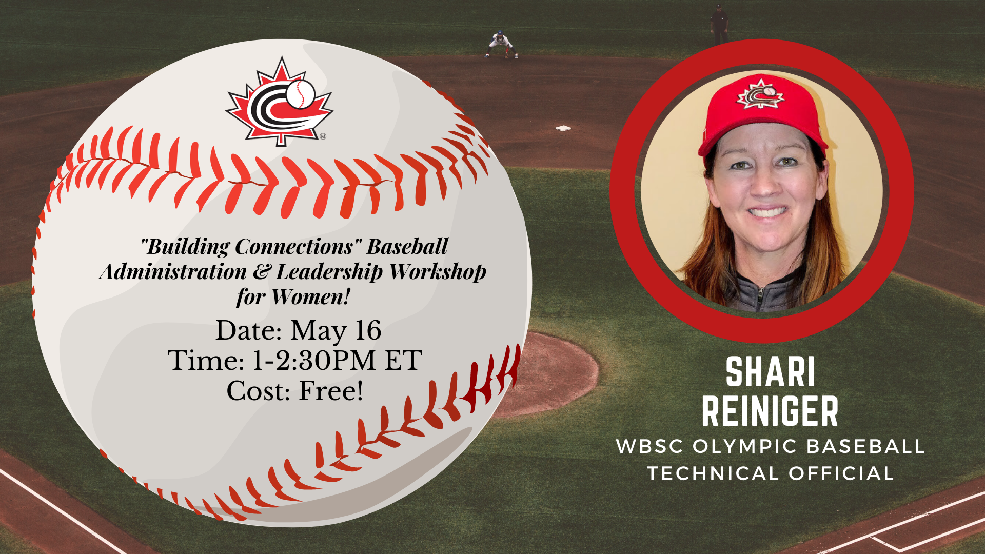 REGISTER: Baseball Administration and Leadership Workshop for Women