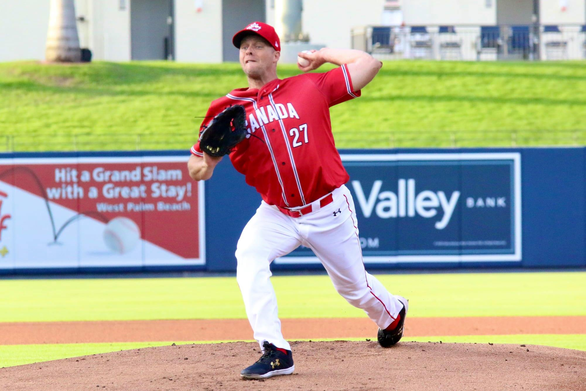 Albers returns to the big leagues