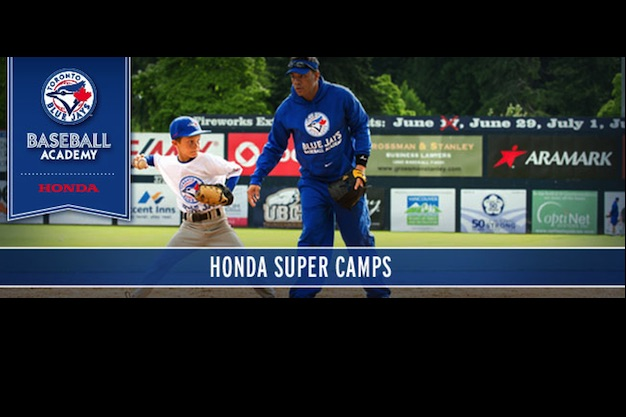 Blue Jays Baseball Academy and Honda Canada release Super Camp and Instructional Clinic schedule for 2015