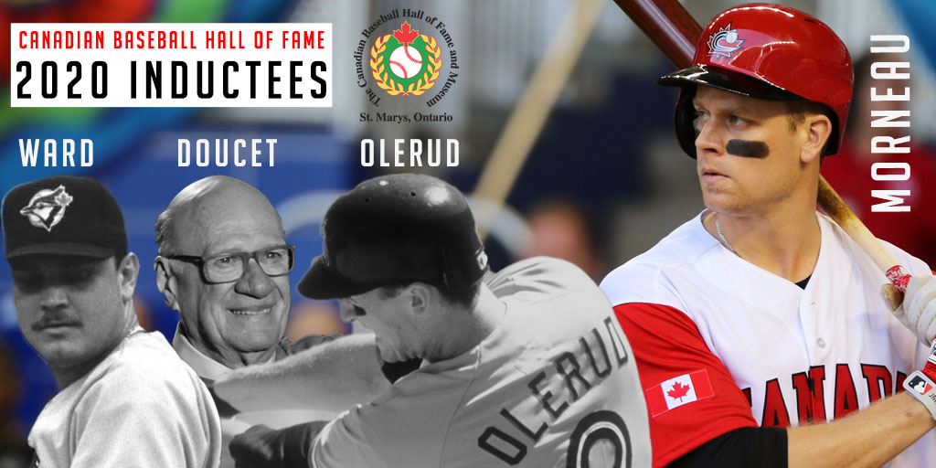 Morneau, Doucet, Olerud, Ward to be inducted into CBHOF