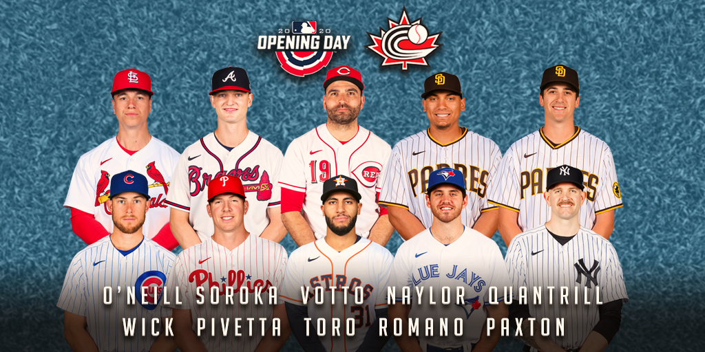 MLB Canadians on 2020 Opening Day rosters