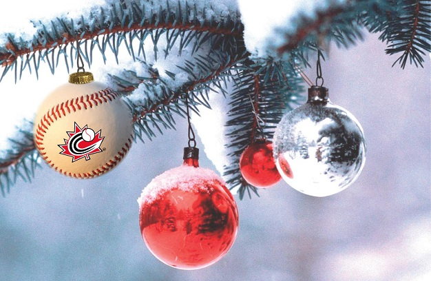 Season's Greetings and Best Wishes for the coming Baseball season!