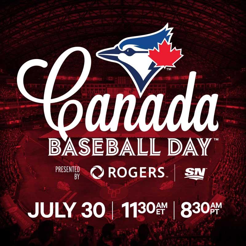 Celebrate Canada Baseball Day on July 30th!