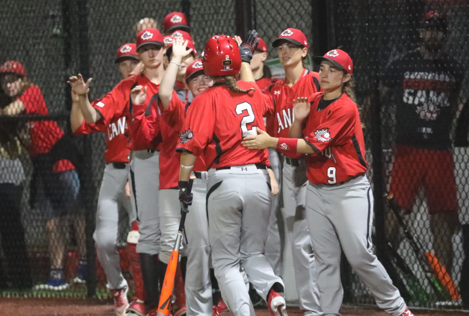 Women's Baseball World Cup: Canada slugs out win over Australia