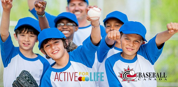 Baseball Canada and Active for Life partner to promote physical literacy