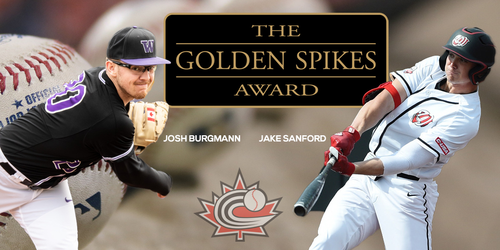 Burgmann and Sanford named to Golden Spikes midseason watch list
