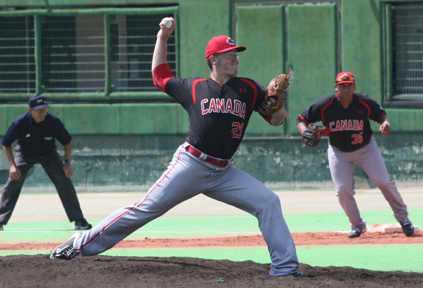 U-18: Burgmann terrific, Canada tops Taipei in opener