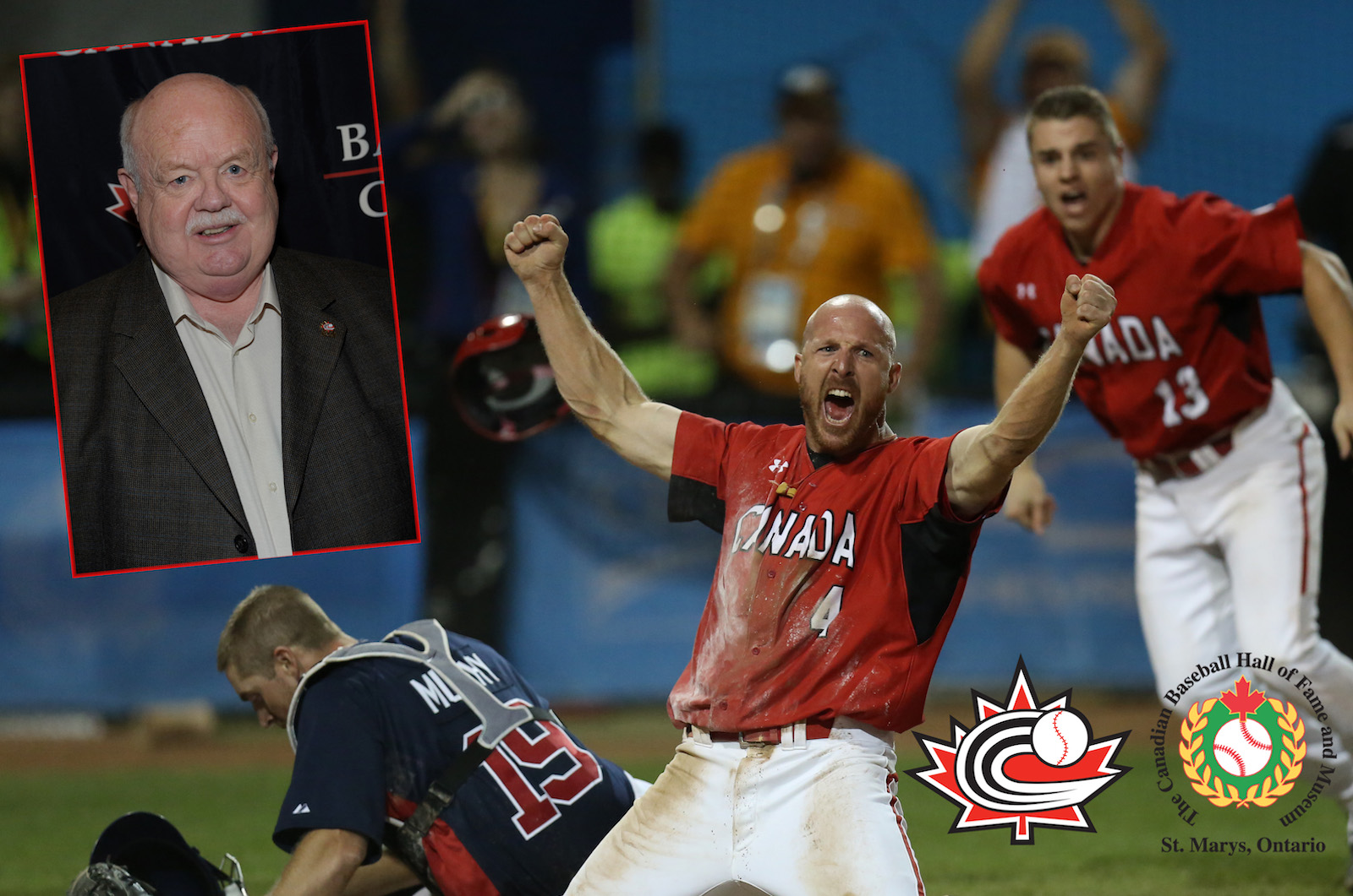 2015 Pam Am squad, Ray Carter to be inducted into Canadian Baseball Hall of Fame