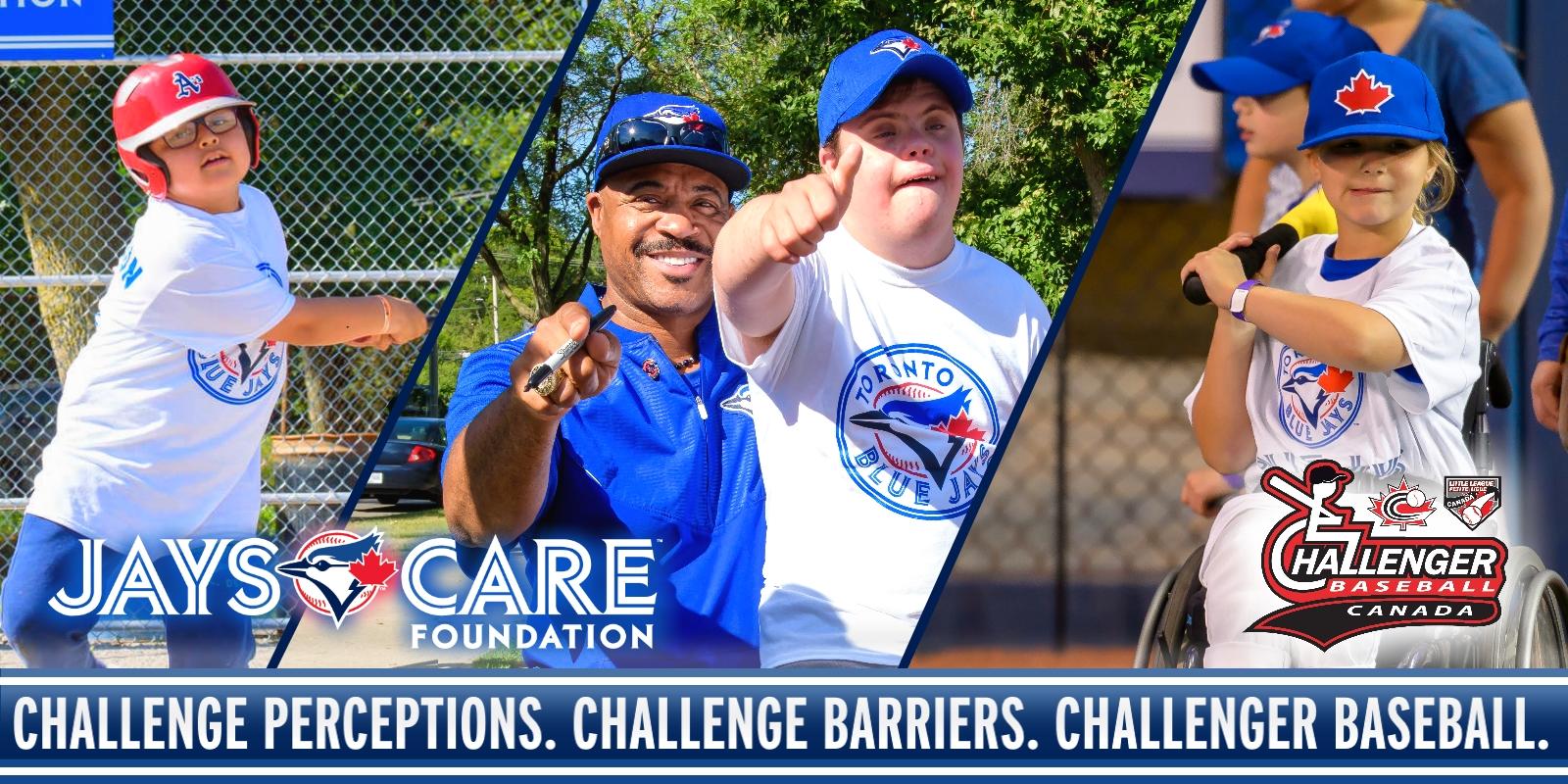 Jays Care Foundation, Baseball Canada, Little League Canada team up for Challenger Baseball