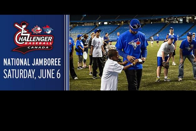 Blue Jays to host 3rd annual National Challenger Baseball Jamboree, Challenger Baseball Clinic dates announced