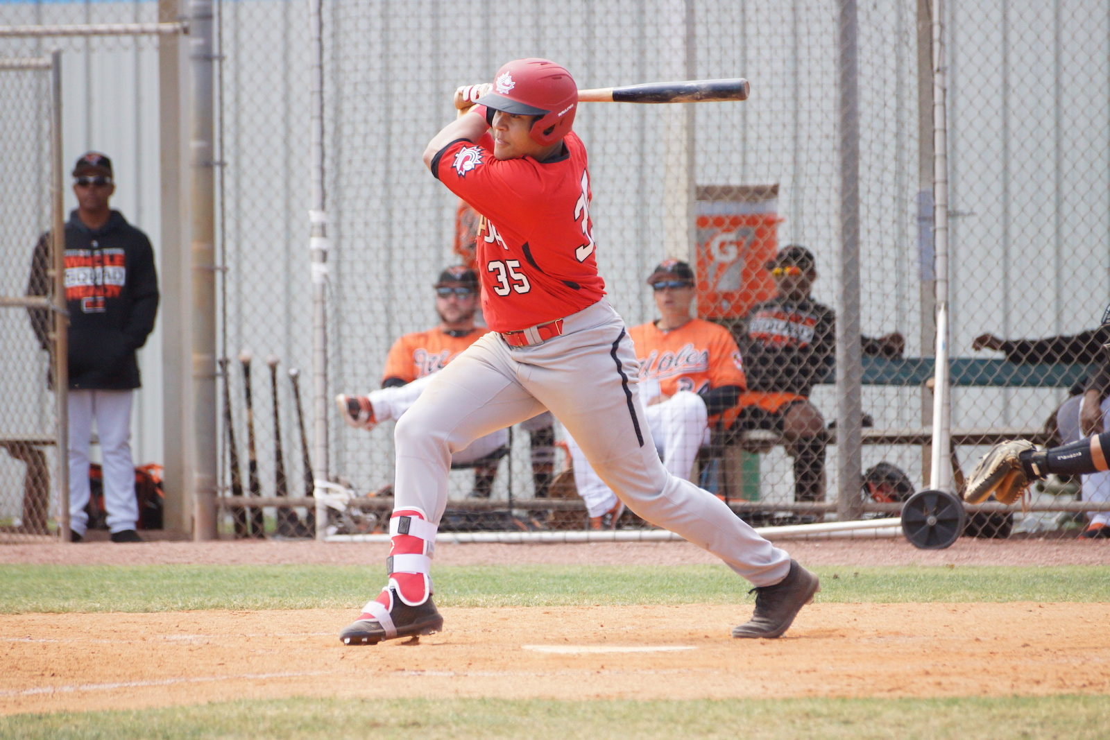 JNT SPRING: Orioles get by juniors