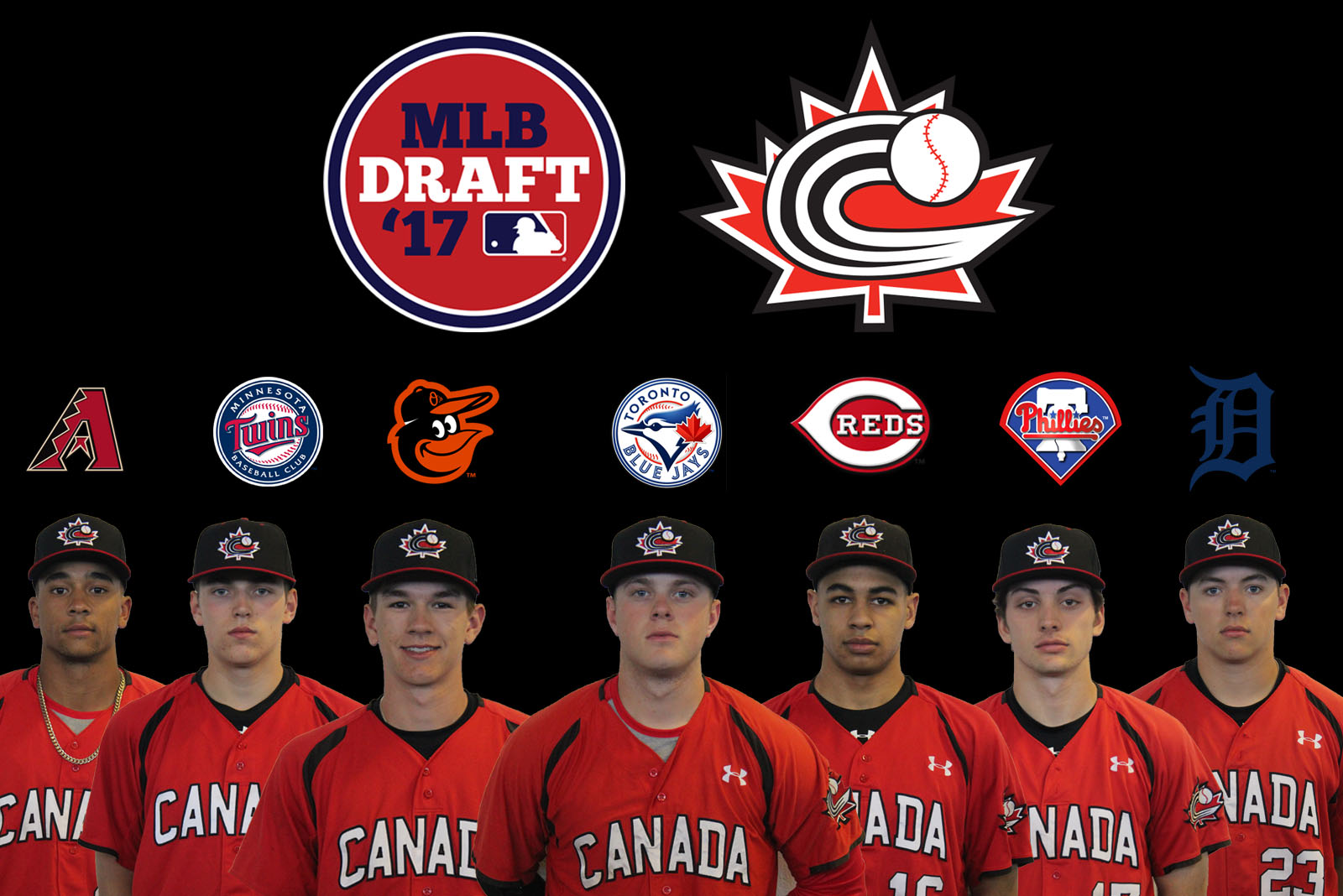Seven Junior National Team members selected on final day of MLB Draft