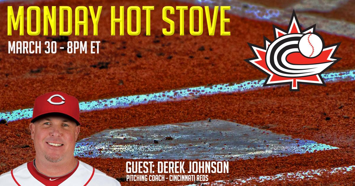 REGISTER: Monday Hot Stove with Derek Johnson