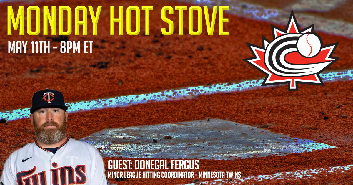 REGISTER: Monday Hot Stove with Donegal Fergus