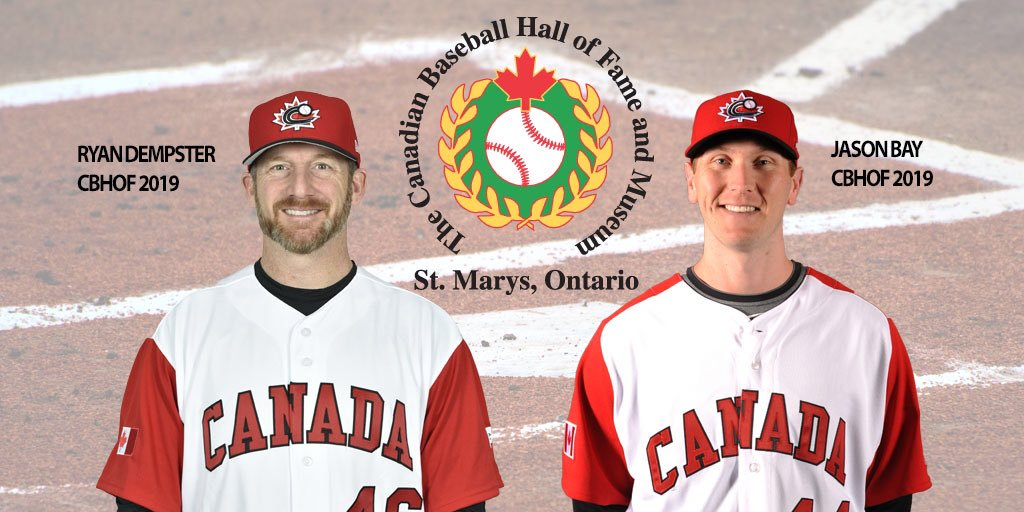 Bay, Dempster, Thomson and Ash to be inducted into Canadian Baseball Hall of Fame