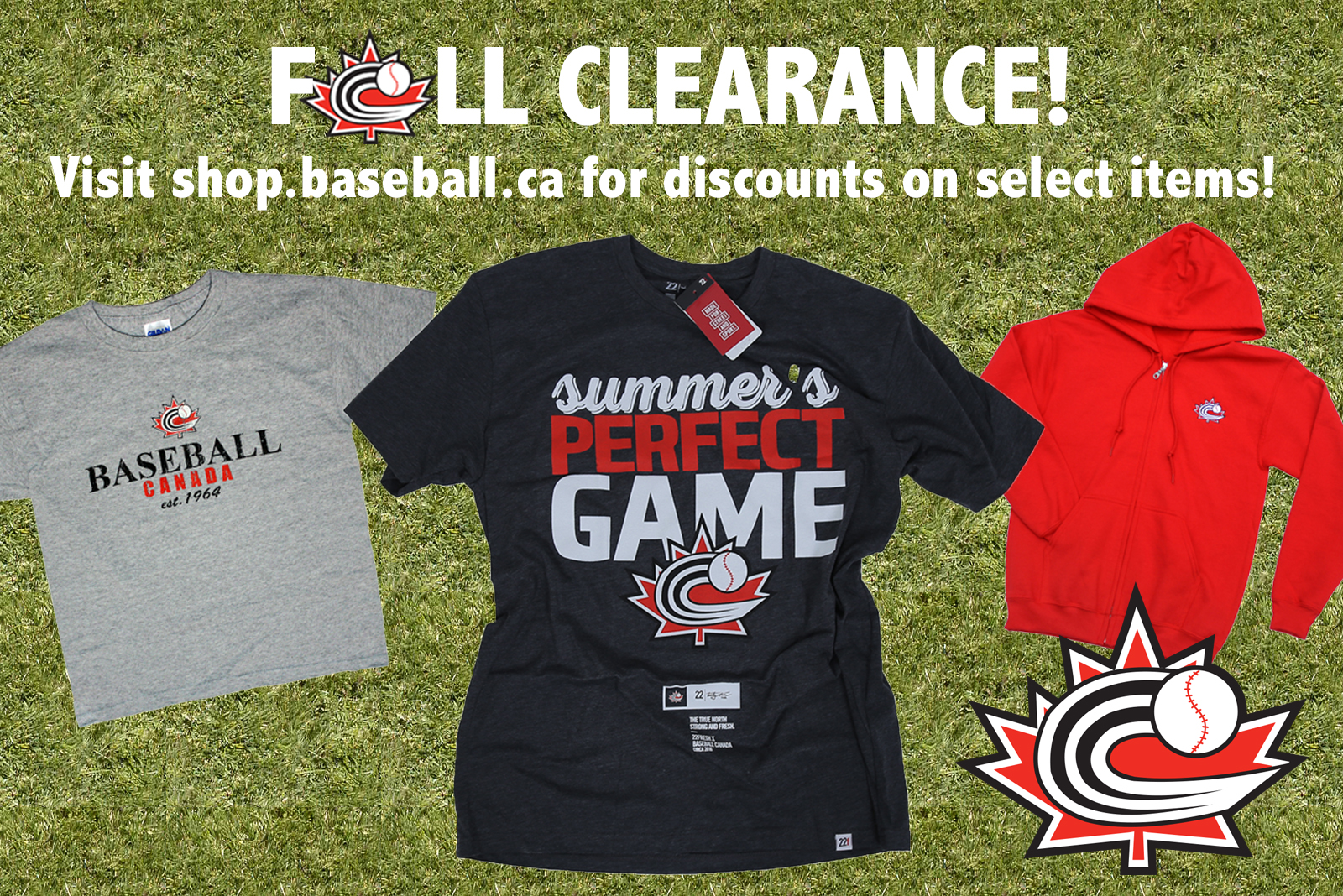 FALL CLEARANCE SALE!