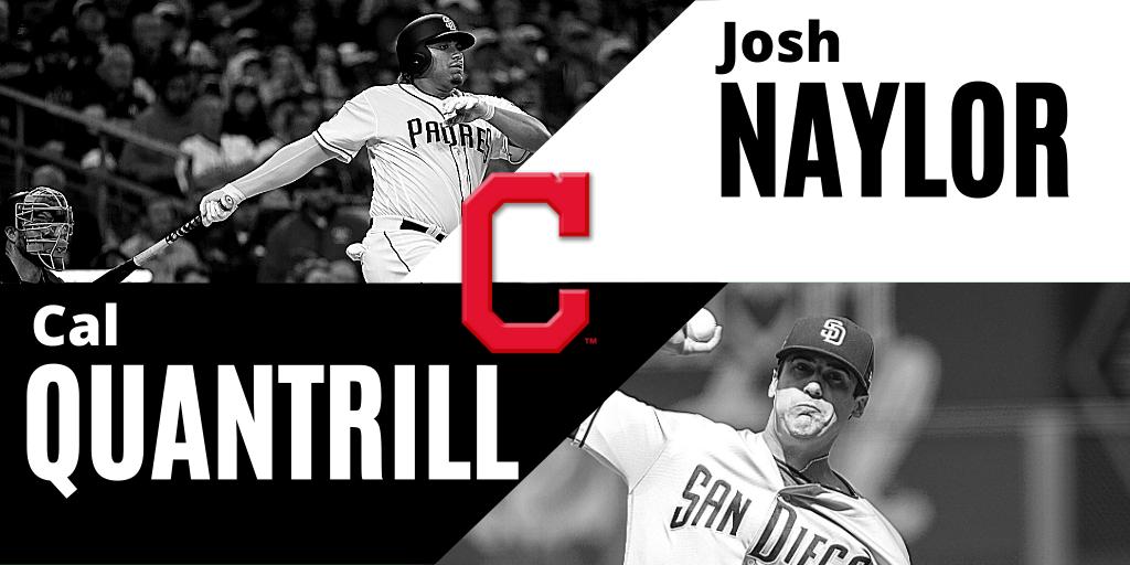 Naylor et Quantrill échangés aux Indians de Cleveland
