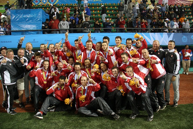 CANADIAN MEN'S BASEBALL TEAM NOMINATED FOR TORONTO 2015 PAN AM GAMES