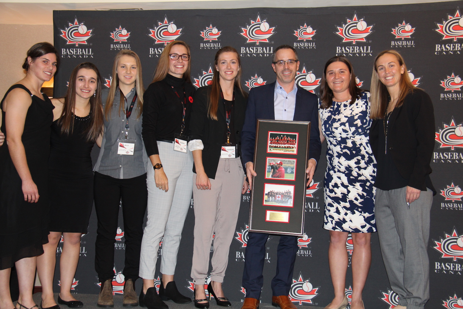 Baseball Canada honours best from women's baseball