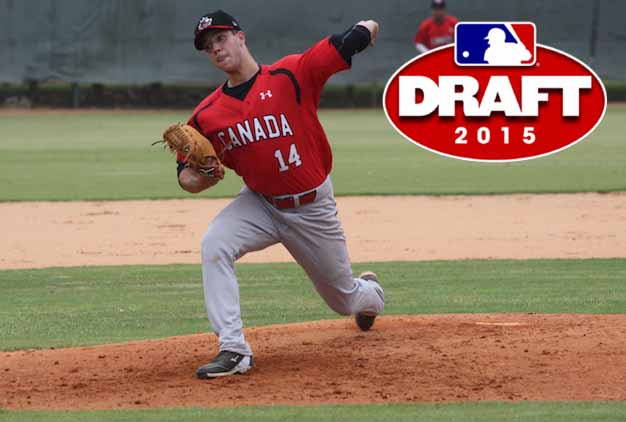 30 Canadians taken in 2015 MLB First-Year Player Draft