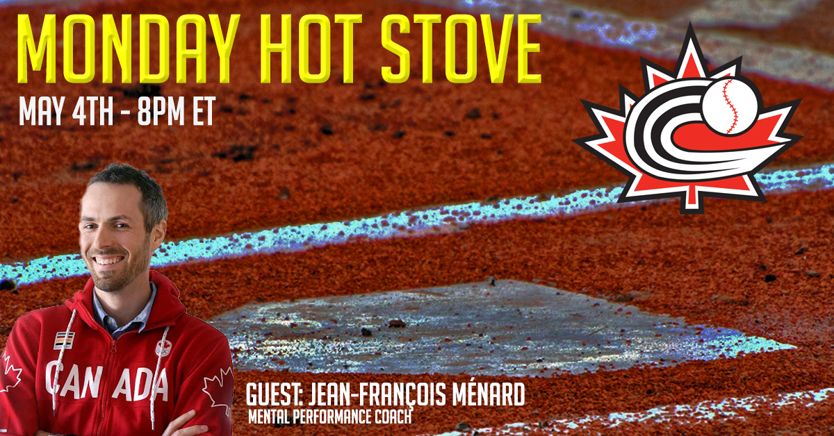 REGISTER: Monday Hot Stove with Jean François Ménard