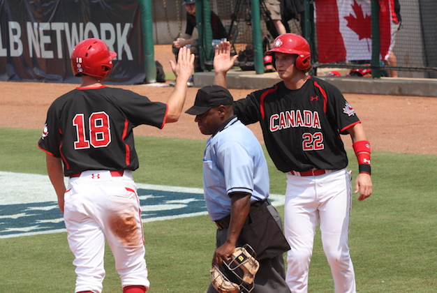 Canada earns convincing win over US College Nats