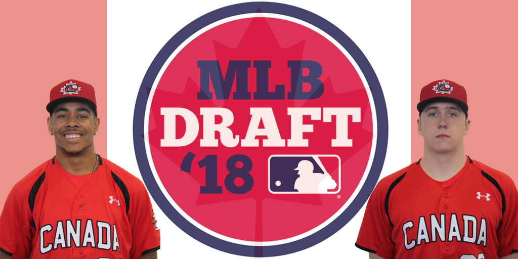 Pompey and Freure taken on Day Two of MLB Draft
