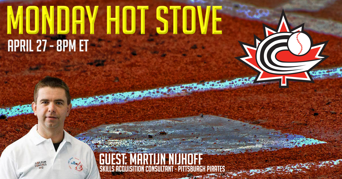REGISTER: Monday Hot Stove with Martijn Nijhoff