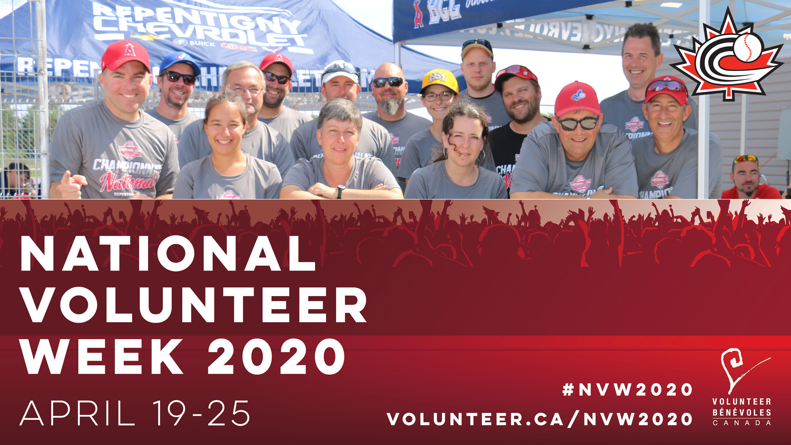 NATIONAL VOLUNTEER WEEK: Thank your baseball volunteers!