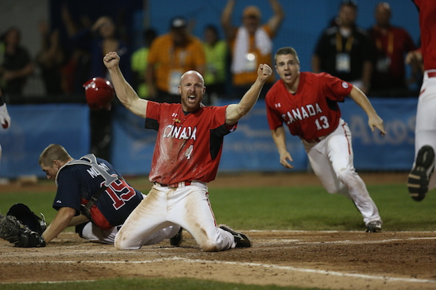 CANADA DEFENDS PAN AM BASEBALL GOLD