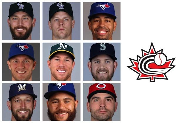 MLB season opens with nine Canadians