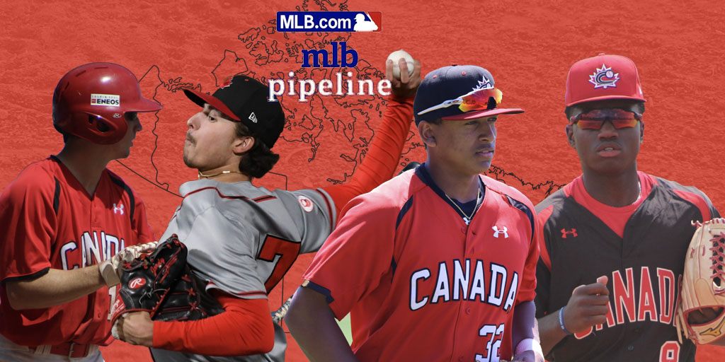 Canadian prospects land on MLB Pipeline Top 30 lists