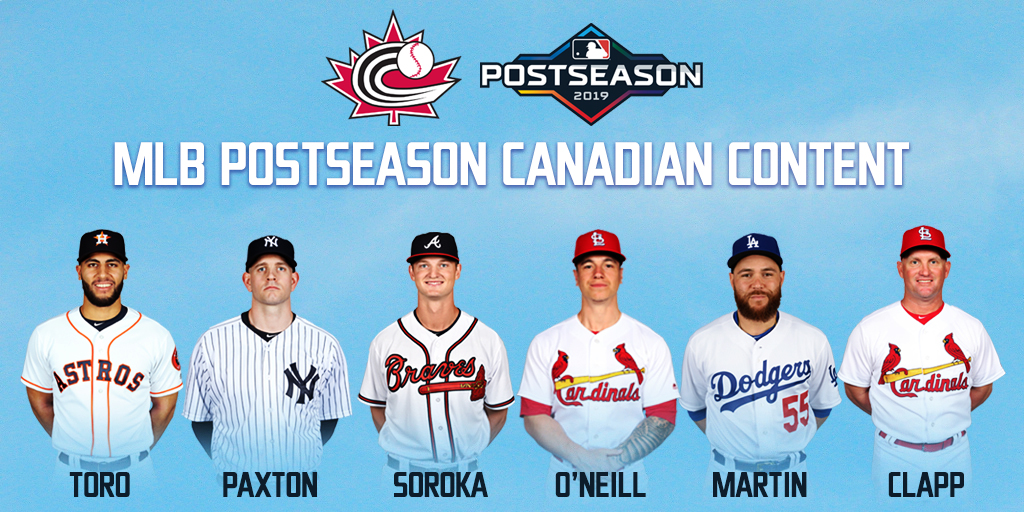 Canadians primed for MLB Postseason