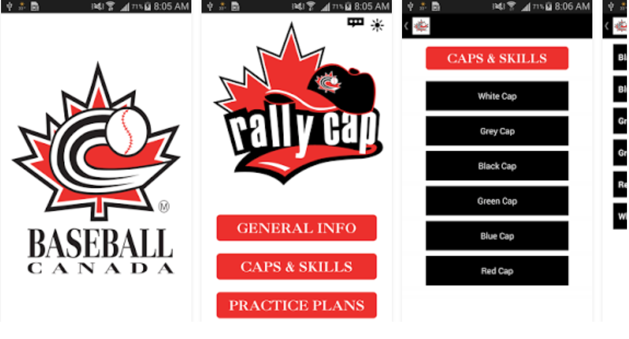 Baseball Canada launches DQ® Rally Cap app!