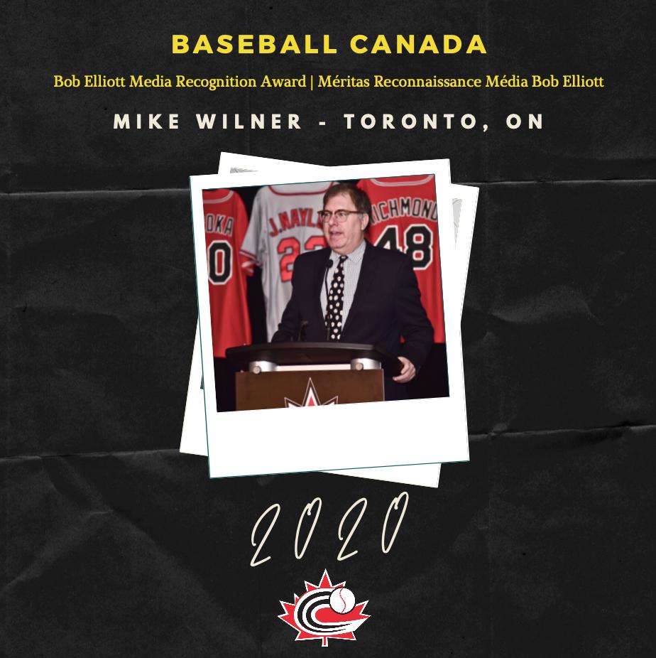 Mike Wilner lauréat du tout premier méritas Reconnaissance média Bob Elliott