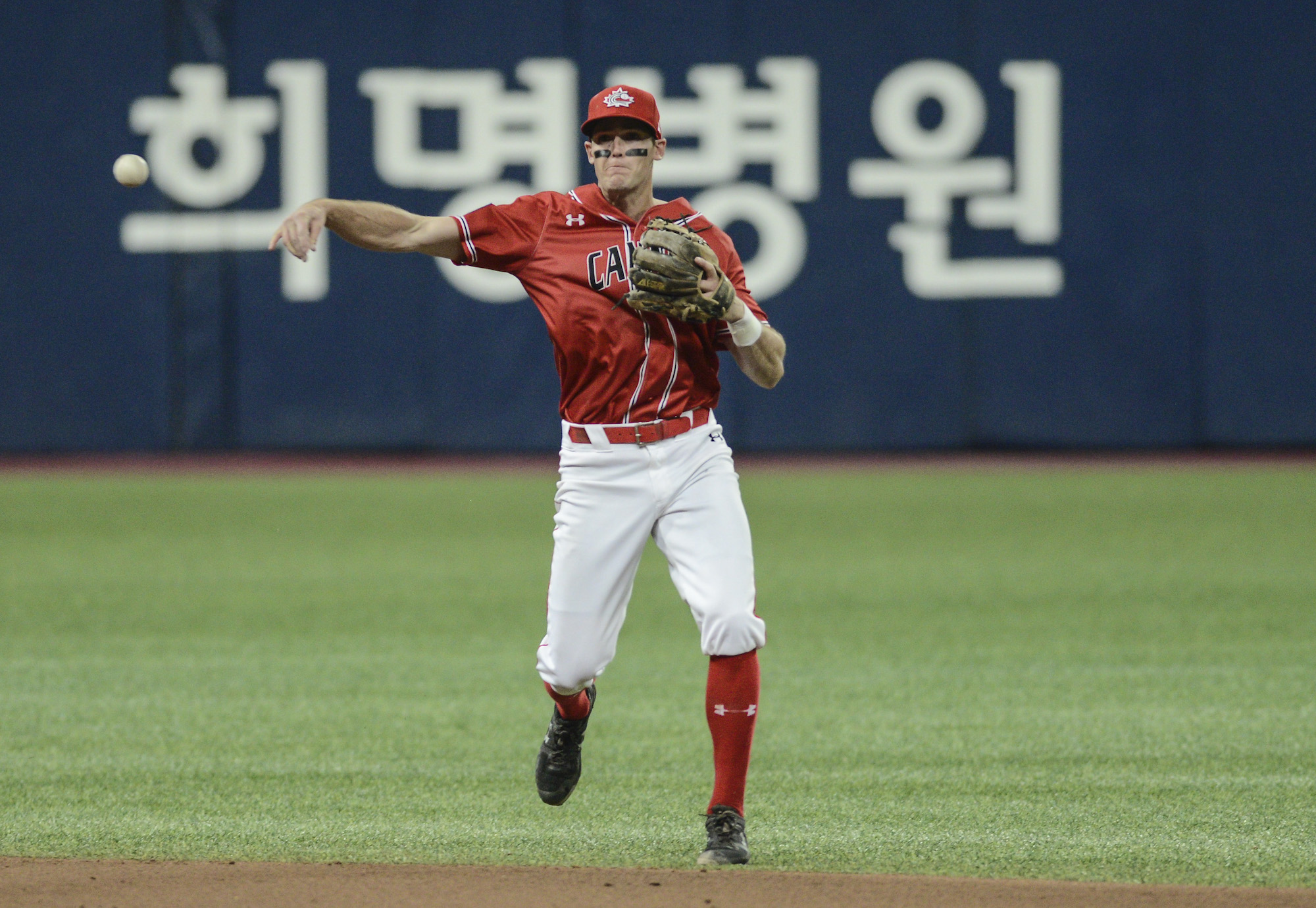 PREMIER12: Korea hands Canada first loss
