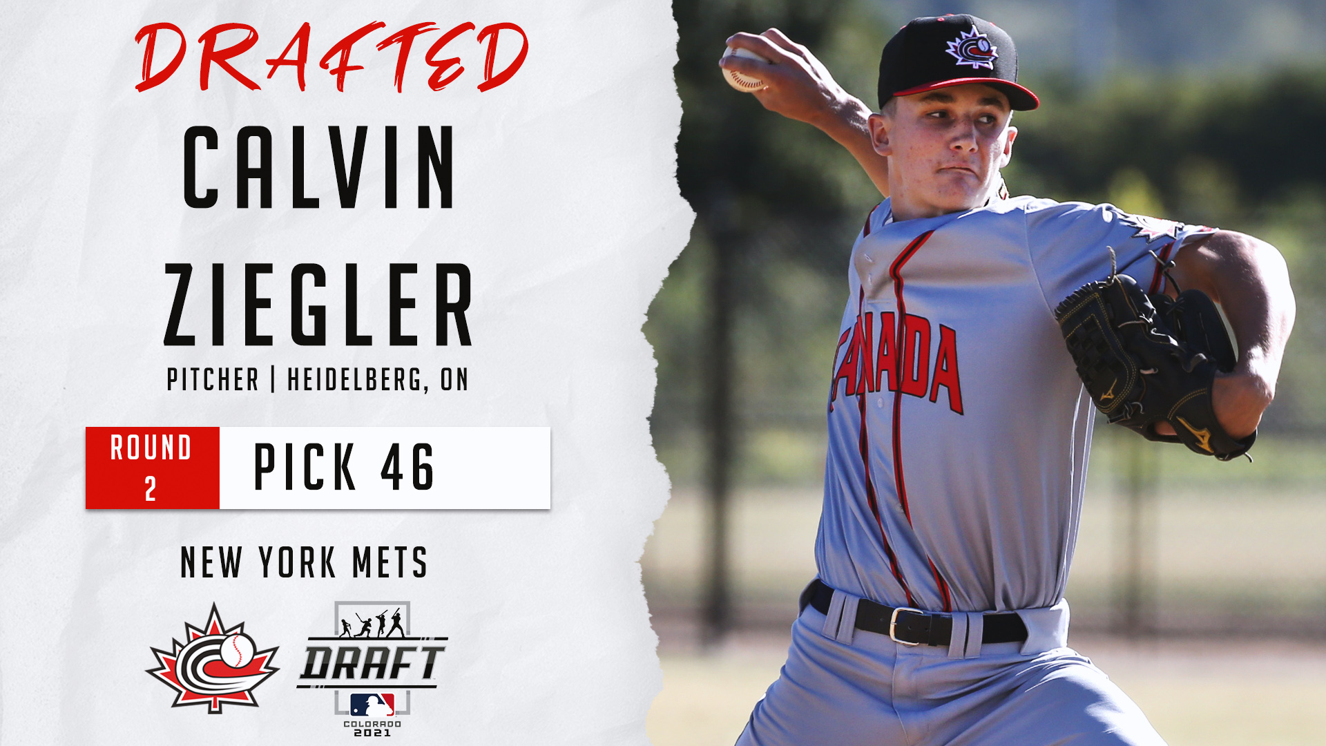 MLB DRAFT: Eight Canadians selected on day two