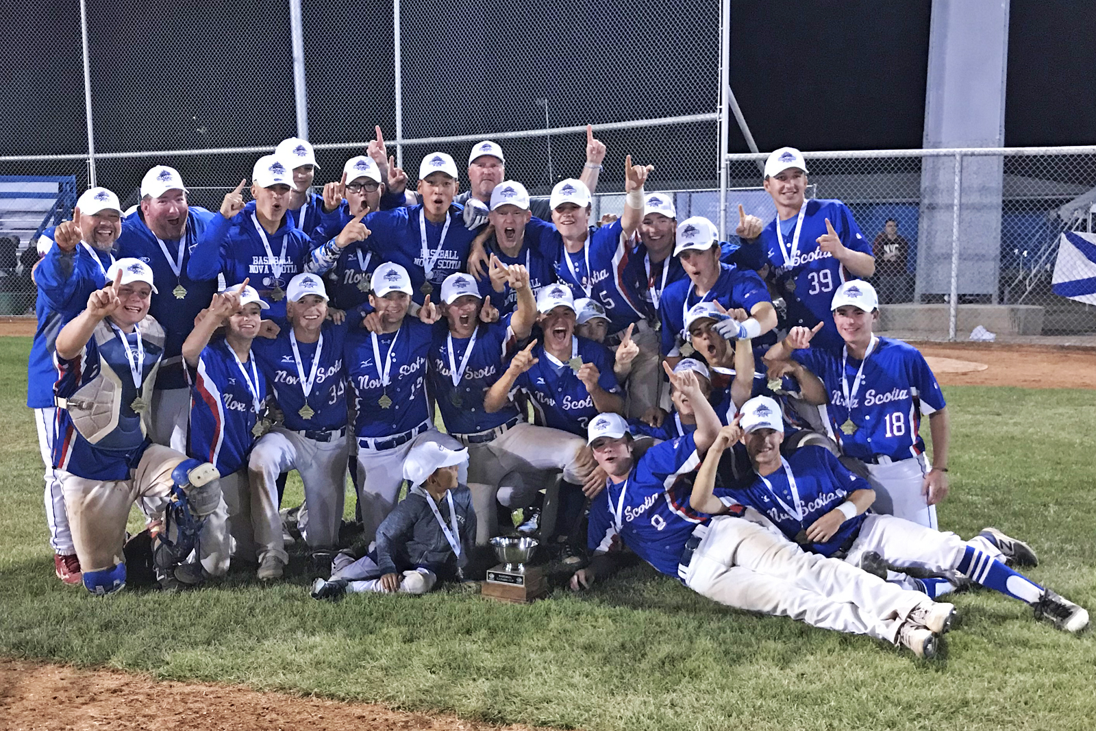 BIGS Seeds Baseball Canada Cup: Nova Scotia Defeats Ontario and Wins Gold